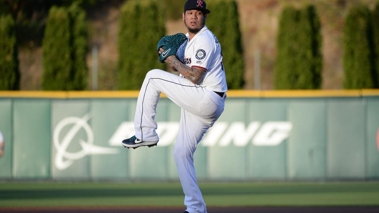 Felix Hernandez Makes Rehab Start, Tacoma Defeats Salt Lake for Fifth-Straight on Monday