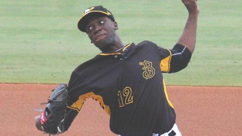 Taylor Hearn has struck out 78 batters in 65 2/3 innings this season for Bradenton.