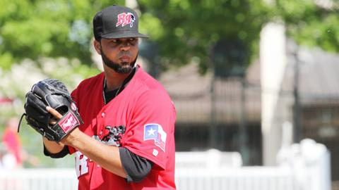 Carlos Pimentel threw 7.0 innings, with just three hits against him and a walk, he struck out seven but took the loss.