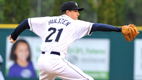 Danny Hultzen fanned 34 batters over 30 2/3 innings for Tacoma.