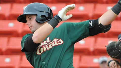 Kevin Plawecki is hitting .400 with five homers in 29 games for the Sand Gnats.