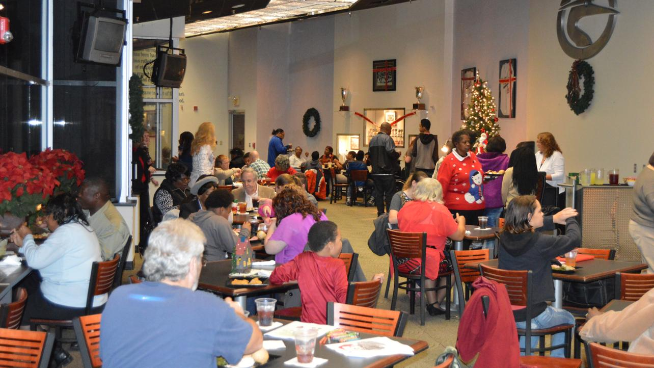 Book your Holiday Party in our Executive Club!