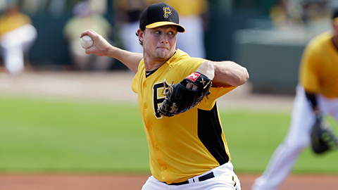 Gerrit Cole struck out 136 over 132 innings at three levels in 2012.