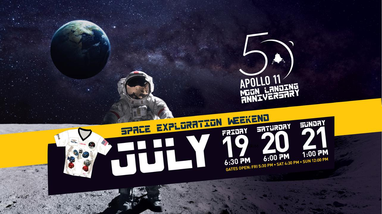 Celebrate the 50th Anniversary of the Moon Landing with the Flying Tigers