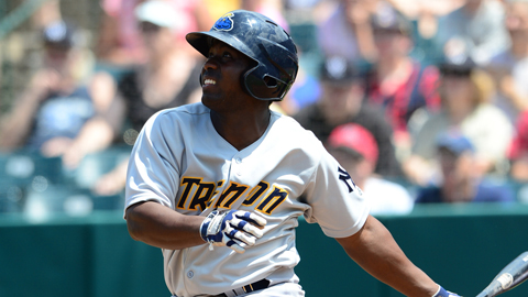 Jose Pirela is hitting .353 in 16 games in August for the Thunder.