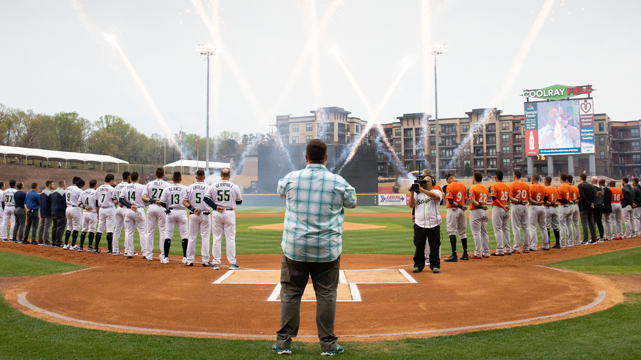 Stripers Host Norfolk for Salute to Armed Forces Night