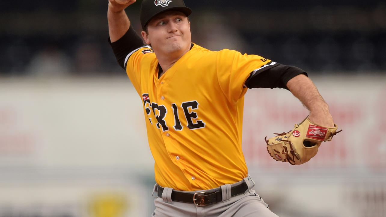 Erie's Mize takes the hill against Richmond