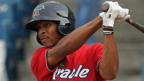 Byron Buxton ranked second in the Minor Leagues with 109 runs scored.