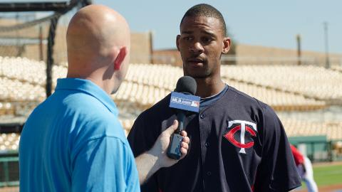 Byron Buxton has eight RBIs in eight games with Glendale this fall.