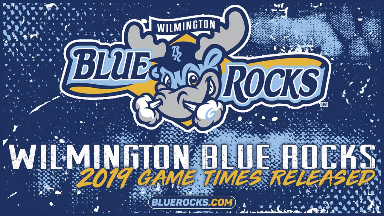 Blue Rocks Announce Game Times
