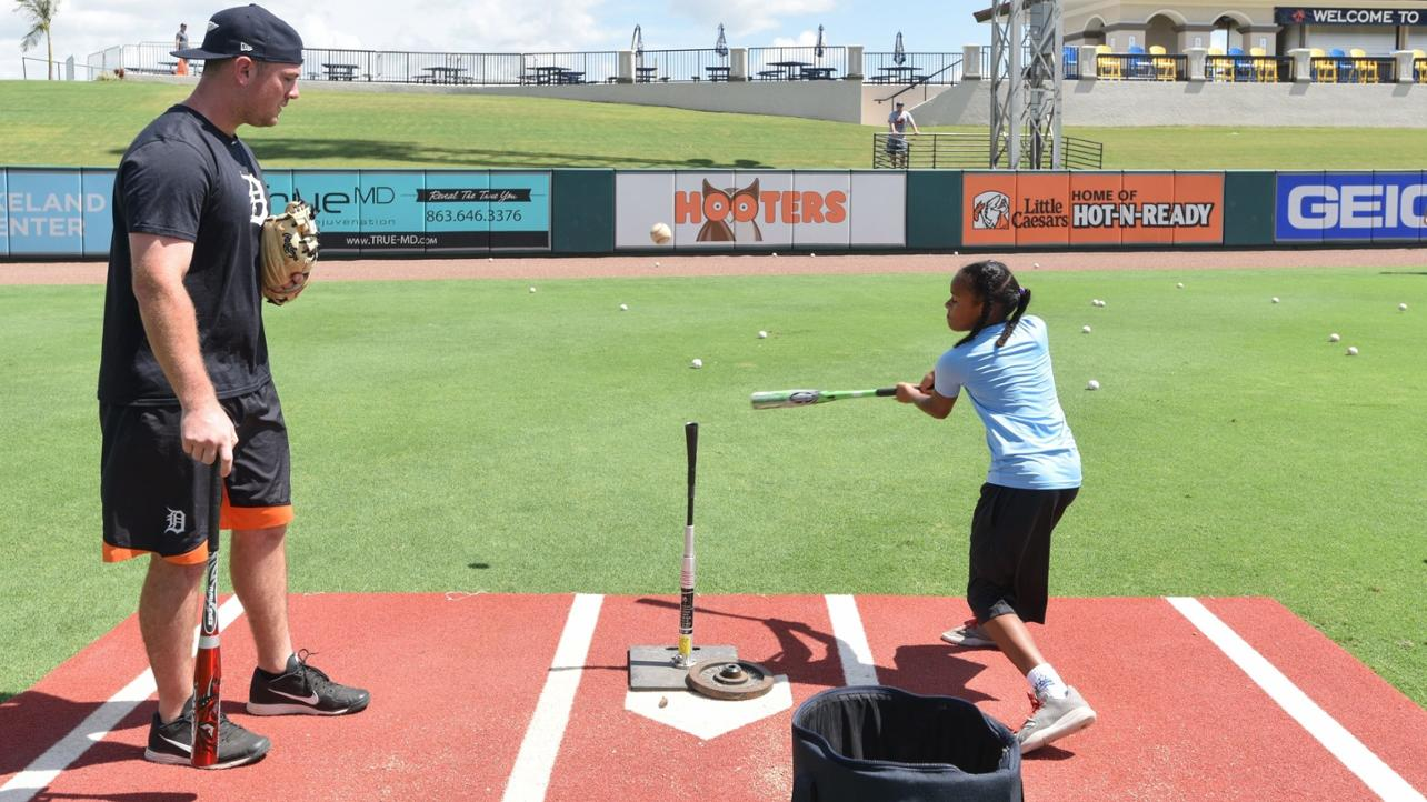 Learn from the Pros at the Flying Tigers Baseball Camp