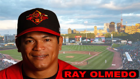 Ray Olmedo had three hits, an RBI and a steal Thursday night.