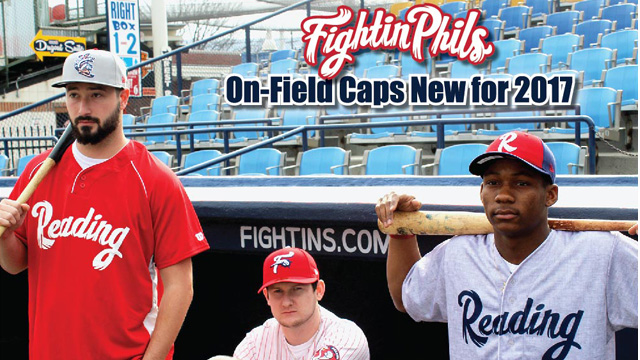 b968ac85521 Fightin Phils players and coaches will wear three new hats in 2017