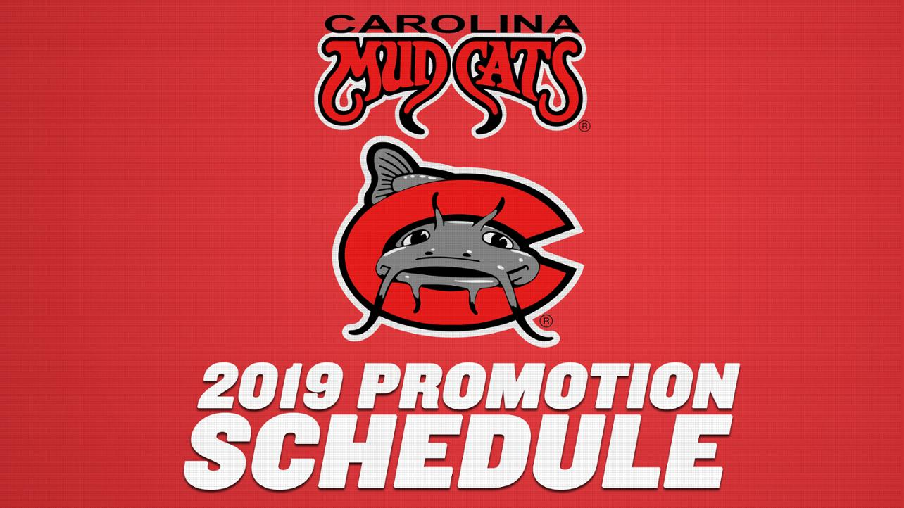 2019 Promotions Schedule