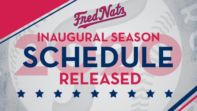 Astros Schedule 2020 Printable.Fredericksburg Nationals Release 2020 Inaugural Schedule