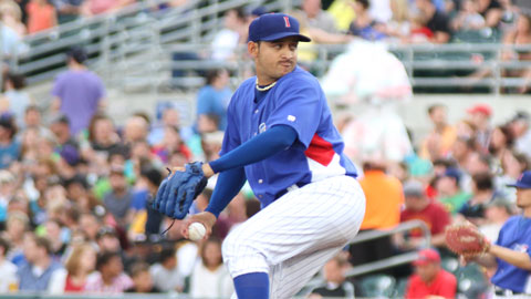 Yoanner Negrin is among the league leaders in wins, innings, WHIP, and starts in Venezuela.
