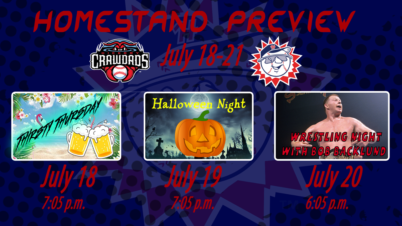 Homestand #9 Preview: July 18-21