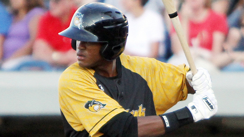 Socrates Brito leads South Bend with three RBIs in three playoff games.