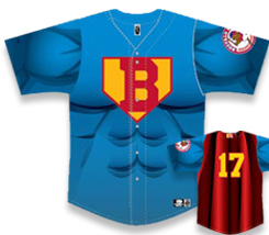Bisons Superhero Night Jerseys