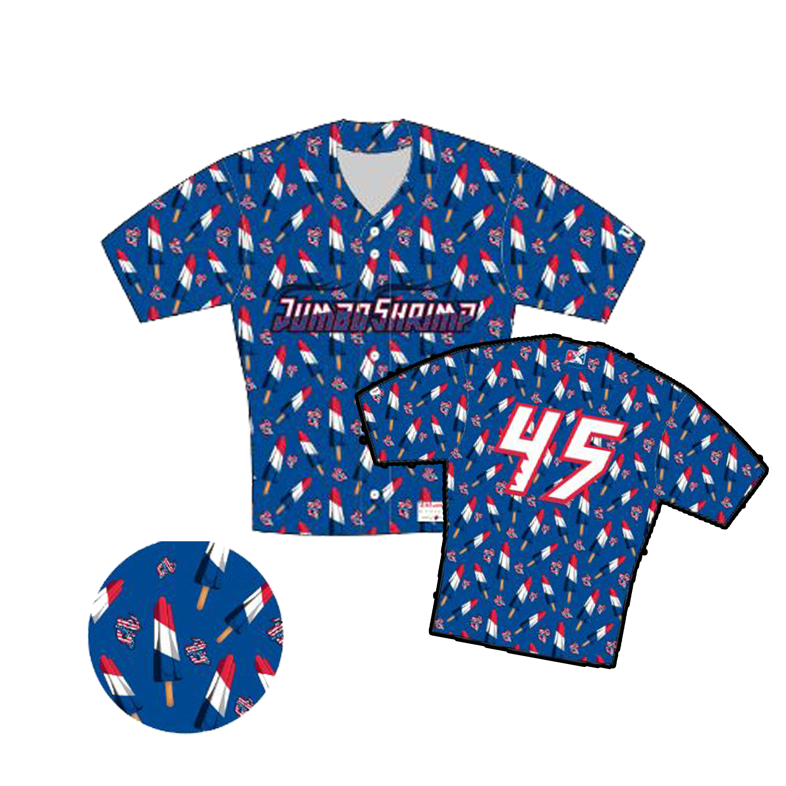 0860d6ff767 At any rate, log on to jaxshrimp.com to bid on these one of a kind July 3rd  jerseys!!   More Info