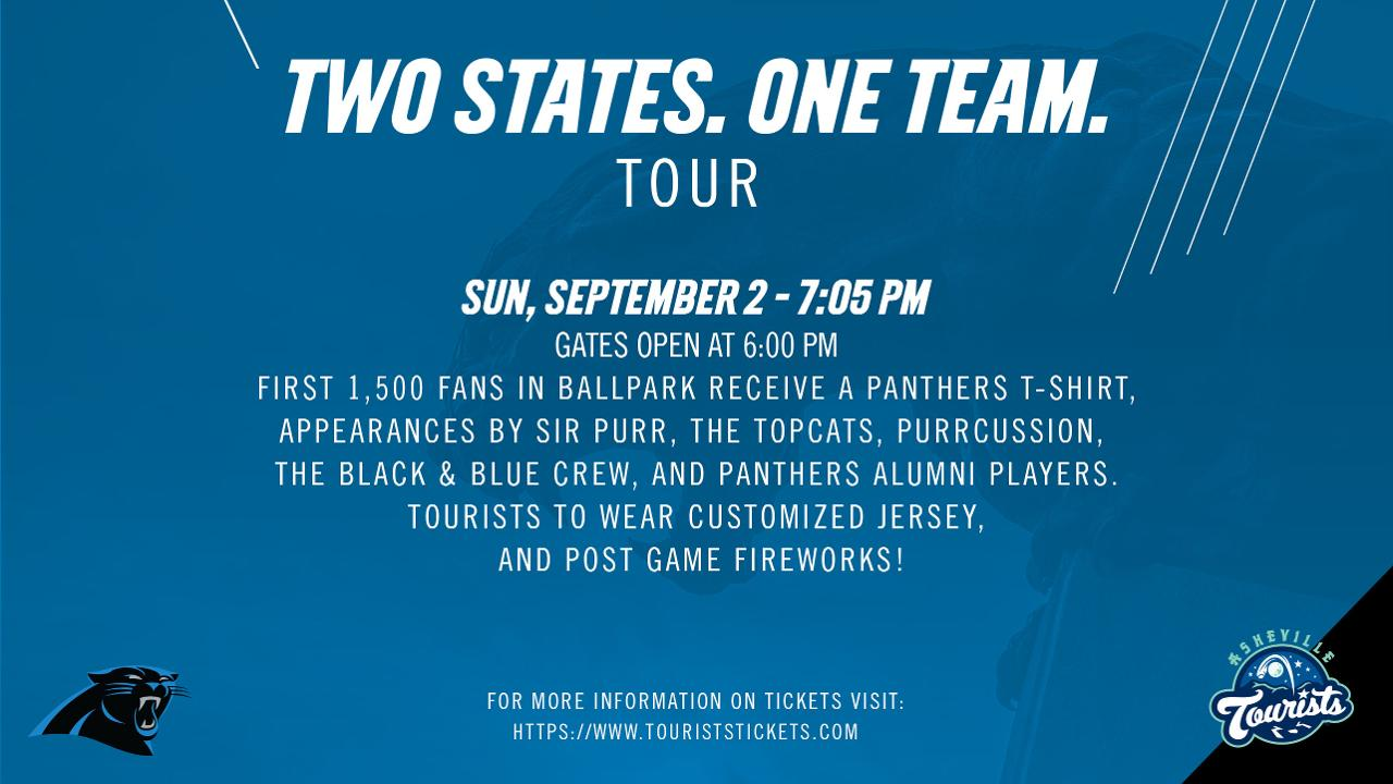 f84bbbd9c Carolina Panthers to Visit McCormick Field. Sunday, September 2nd, Tourists  Welcome the Panthers to Town