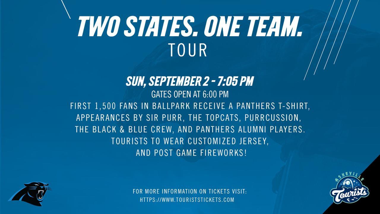 san francisco 257c3 93162 Carolina Panthers to Visit McCormick Field | Asheville ...