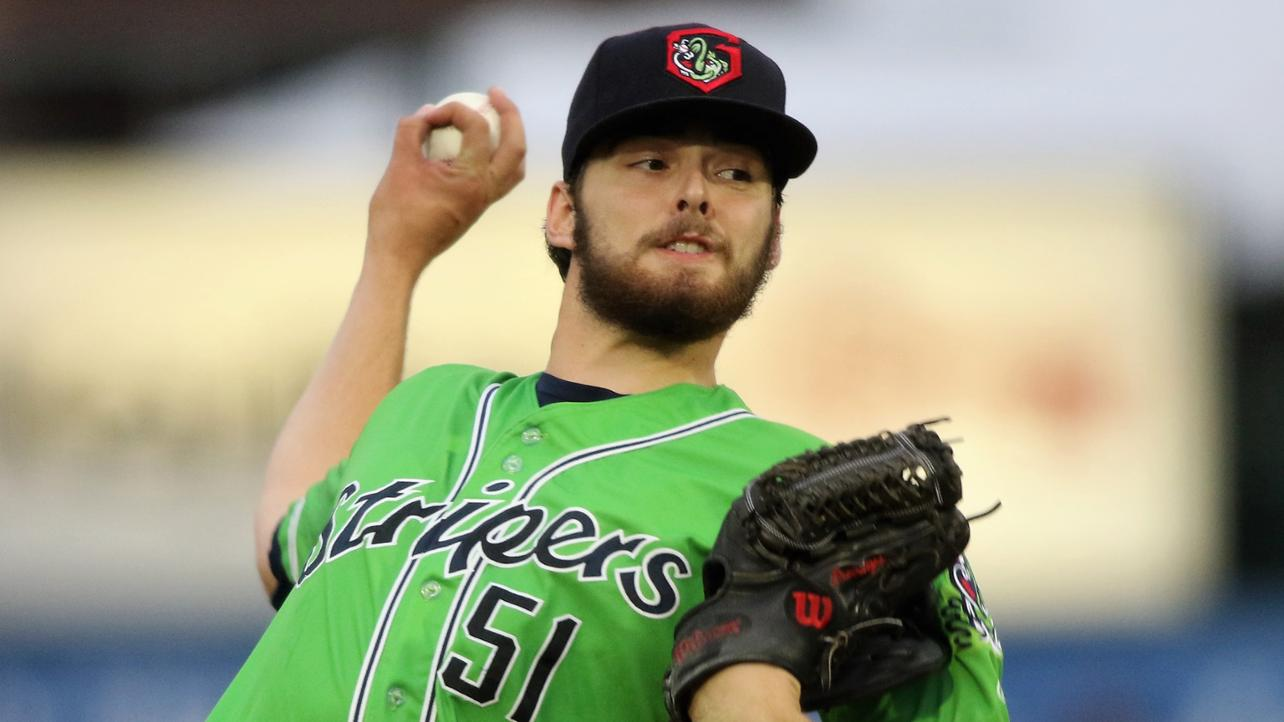 Braves' Anderson takes mound for Gwinnett