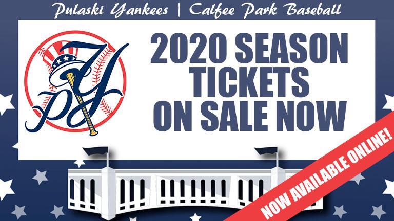 2020 Season Tickets online