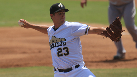 Donn Roach has a 3.93 ERA in 94 innings for San Antonio.