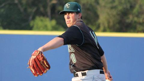 Kyle Zimmer has 27 strikeouts in three starts for Wilmington this season.