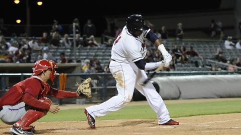 Telvin Nash supplied the JetHawks with their only run on Thursday night.