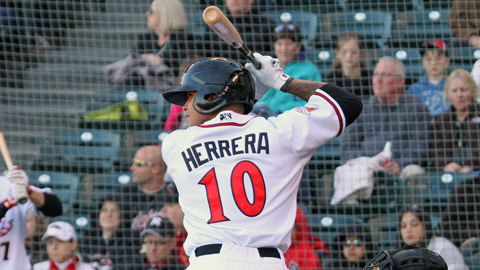 Javier Herrera went 4-for-4 with four RBIs in the loss.