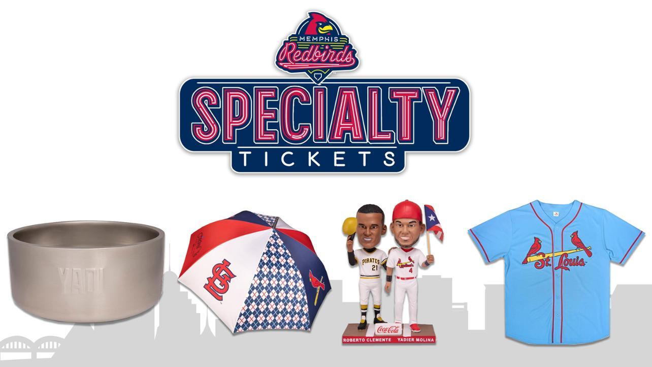 Cardinals Specialty Tickets