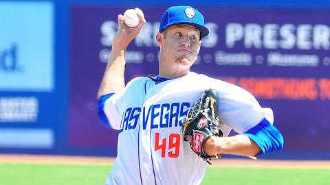 Zack Wheeler ranks second in the Pacific Coast League with 36 strikeouts.