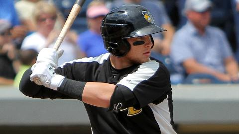 Brandon Drury is batting .311 with a Midwest League-leading 46 doubles.