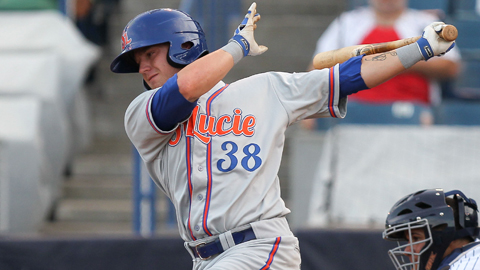 Dustin Lawley has 23 home runs in 101 games for St. Lucie.
