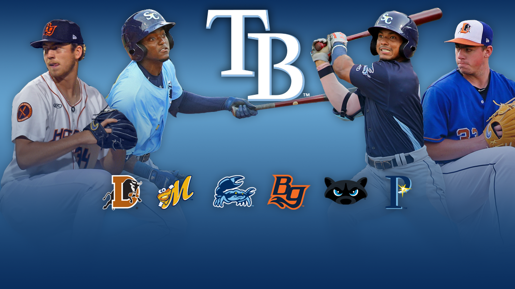 Rays' winning ways earn Farm System of the Year