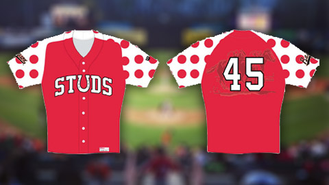 Bowie will wear these polka-dot horse-racing-themed jerseys on May 25.