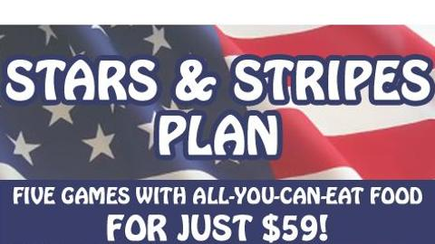 GreenJackets Stars and Stripes Plan | Augusta GreenJackets Tickets