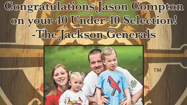 GM Jason Compton honored by local Chamber, Jackson Sun