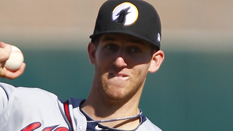 Zeke Spruill spent five seasons in the Braves' Minor League system.