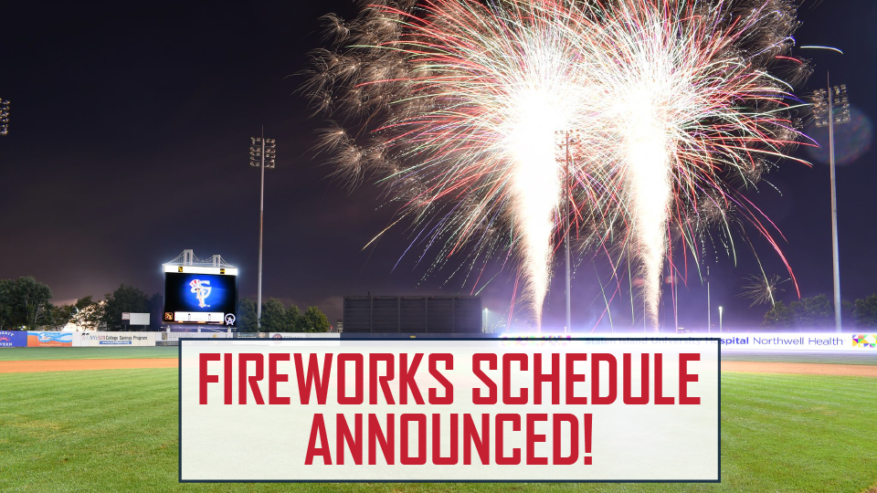 30674eba5514c Staten Island Yankees Fireworks Schedule Set for 2018 Season. Post-game  fireworks planned for every Saturday