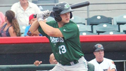Nick Senzel collected 32 extra-base hits in 62 games in the Florida State League this year.