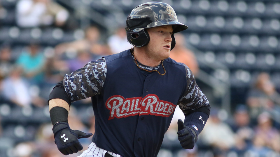 3baba4e91 Clint Frazier is 5-for-16 (.313) with two homers and four RBIs in his last  four games. (Andy Grosh MiLB.com)