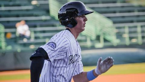 Colorado second-rounder Ryan McMahon batted .321 over 59 games.