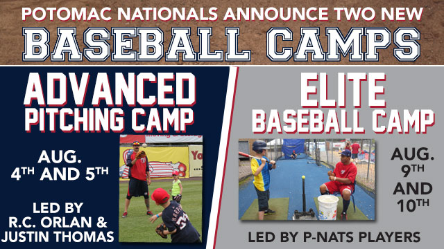 New Baseball Camps