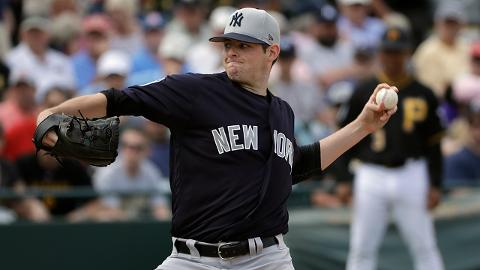 Yankees lefty Jordan Montgomery went 14-5 with a 2.13 ERA in 25 Minor League starts last season.