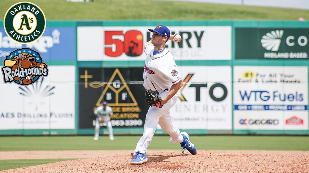 Jefferies Named A's Pitching Prospect of the Year
