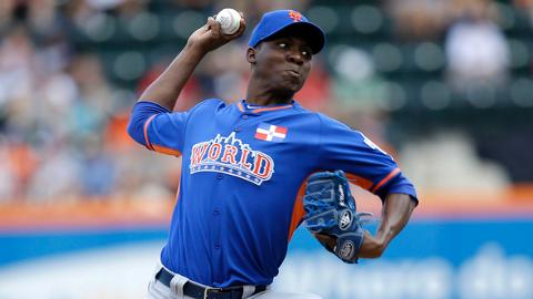 Rafael Montero led all Mets Minor Leaguers with 150 strikeouts.