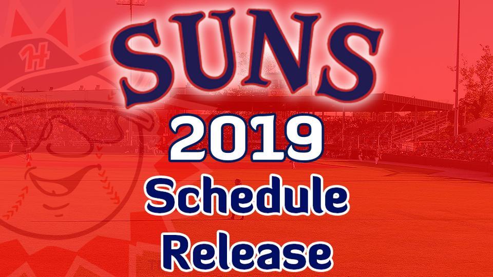 Suns Release 2019 Regular Season Schedule
